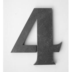 Domové číslo popisné Bridlica - č.4