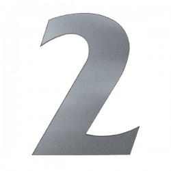Domové číslo popisné 120mm nerez č.2