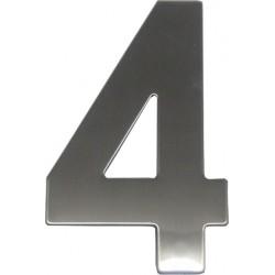 """číslo """"4"""" 145mm nerez"""