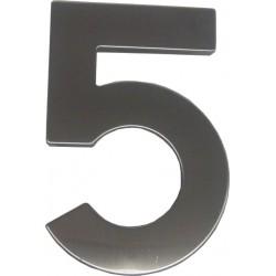 """číslo """"5"""" 145mm nerez"""