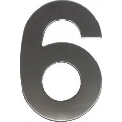 """číslo """"6"""" 145mm nerez"""