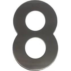 """číslo """"8"""" 145mm nerez"""