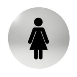 Označenie dverí samolepiace - WC dámy