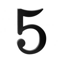 "domove číslo 180mm čierne ""5"""