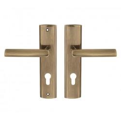 MIRO vchodová kľučka bronz 72mm pravá VMIPP