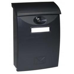 BK03 čierna plastová schránka