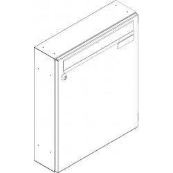 SJ 370/330 poštová schránka jednostranná RAL