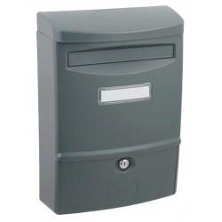 ABS II grafit poštová schránka plast