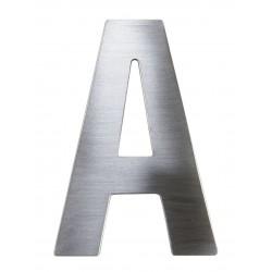 """Písmeno """"A"""" 75mm nerez"""