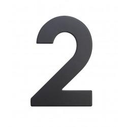 """RN.75L číslo """"2"""" 75 mm čierné matné"""
