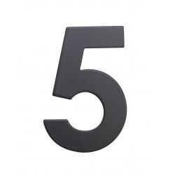 """RN.75L číslo """"5"""" 75 mm čierné matné"""