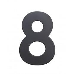 """RN.75L číslo """"8"""" 75 mm čierné matné"""