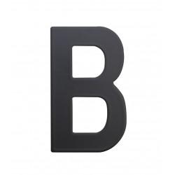 """RN.75L písmeno """"B"""" 75 mm čierné matné"""