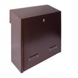 W3 - 3 poštová schránka medený antik