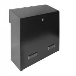 W3 - 3 poštová schránka čierna