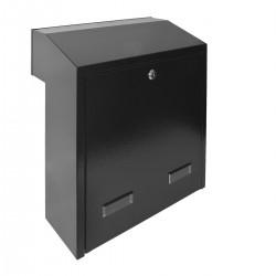 W3 - 4 poštová schránka čierna