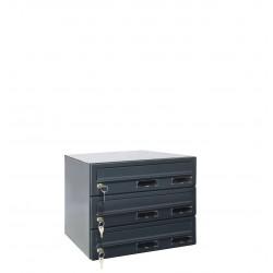M37/3 RAL7016 modulos postaláda