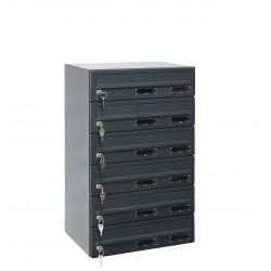M37/6 RAL7016 modulos postaláda