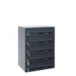 M37/5 RAL7016 modulos postaláda