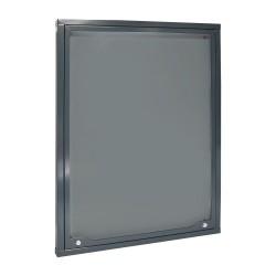 Információs vitrin 94x70cm antracit RAL7016