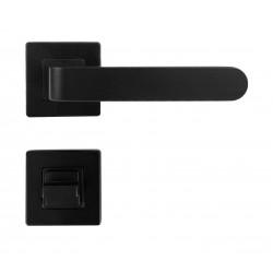 K02 WC ajtó kilincs fekete